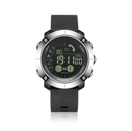 Wholesale fitness motion - EX36 Round Screen Bluetooth Smart onwrist Watch Waterproof 50m Depth 5ATM IP67 For Android And IOS With Luminous Dial motion monitor