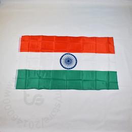 Inde / drapeau national indien Livraison gratuite 3x5 FT / 90 * 150cm Hanging Inde / drapeau national Indien Accueil Décoration drapeau bannière ? partir de fabricateur