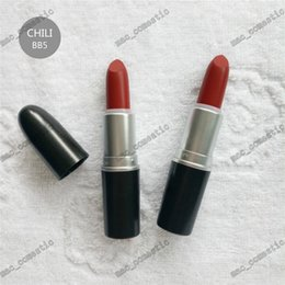Wholesale Red Light Love - Hot M Matte lipstick RUBY WOO PLEASE ME HONEY LOVE REBEL CHILI color long lasting Waterproof Retro Lipsticks makeup 26 colors