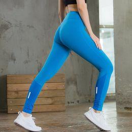 Wholesale Custom Leggings - Yuerlian Logo Custom Running Compression Trousers Skinny Sports Suit Fitness Tight Gym Training Leggings Women Winter Pant Yoga