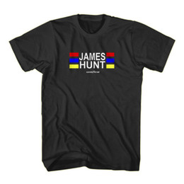 James Hunt World Racing Fórmula Uno F1 Negro camiseta S-3XL desde fabricantes