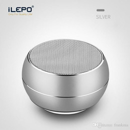 Wholesale Computer Speaker Bar - LED Light R9 Mini Bluetooth Speakers Metal Subwoofer Wireless Speaker Computer TF FM Mic For iPhone X 8 Samsung S8 Charge 3 Pluse sound bar