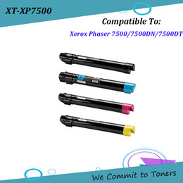 Wholesale Compatible Laser - Xerox 7500A 7500X , Compatible Laser Toner Cartridge for Xerox Phaser 7500 7500DN 7500DT , OEM 106R01433 - 106R01446 ;