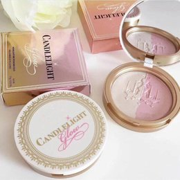 "Wholesale Fa Free - newest makeup High Quality Too Fa Candlelight Glow Highlighting Powder Duo ""rosy glow""""warm glow"" 0.35oz dhl free shipping +gift"