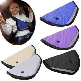 2019 baby-autosafe sitz Auto-Safe Fit Seat Belt Adjuster Auto Sicherheitsgurt einstellen Gerät Baby Kind Junge / Mädchen Sicherheitsgurt Schutz Nackenschutz GGA179 rabatt baby-autosafe sitz
