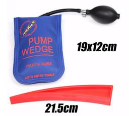 klom Pump Wedge Airbag et goupille en plastique SET Outils de serrurerie de haute qualité Wedge Auto Entry outils outils professionnels ? partir de fabricateur