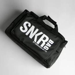Borse popolari online-Popolare moda palestra Duffle Bag Sneakers Borsa di stoccaggio Grande capacità di viaggio Bagagli Borsa tracolla Borse sacchi con scarpe Compartimento