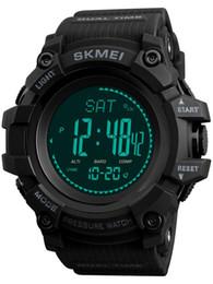 Tracker della bussola online-Mens Altimeter Barometer Compass Digital Outdoor Sport Watch Pedometro fitness Fitness Activity Tracker orologi intelligenti per gli uomini