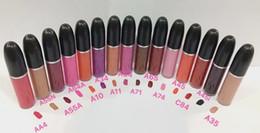 nome do lábio Desconto Maquiagem Lip Gloss Retro Matte Líquido LipColor Lipgloss Não-Vara Copo Lipgloss Com Nome Inglês Tem 12 Cores Diferentes 5 ML
