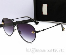 Deutschland Kröte Brille GG 02 kleine Biene Brille Neue Sonnenbrille mit runden Rahmen, europäischen und amerikanischen Internet-Prominenten Retro-Sonnenbrille cheap european american sunglasses Versorgung