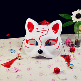 Wholesale Sexy Fox Cosplay - Sexy Women Party Masks Masquerade Mask Venetian Cat Cosplay Costume DIY Mask High Quality Cat face fox mask