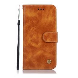 caso d'argento dell'annata Sconti Per LG Stylo 5 Huawei P20 Lite Pro P10 Mate 10 Custodia portafoglio in pelle vintage NoKia 4.2 Retro ID Card Slot Flip Cover Luxury Cell Mobile Strap