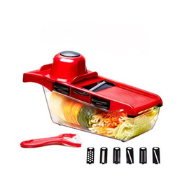 Affettatrice cucina più online-Fabbrica che vende cucina multifunzionale affettatrice di verdure affettatrice super affettatrice più frutta verdura strumenti spedizione gratuita