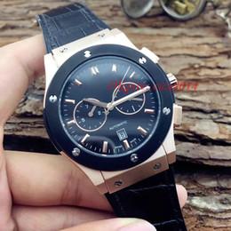 Wholesale Fusion Brands - Brand new Classic Fusion Black Carbon Fiber Dial Black Automatic Mechanical Men's Watches (Rubber  Leather  Steel ) Men's Wristwatch Watch