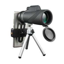 Militaire hd en Ligne-Nouveau télescope extérieur HD 40x60 puissant zoom monoculaire Grand jumelles de poche lll vision nocturne chasse militaire professionnel