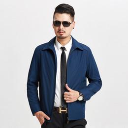casaco velho Desconto 1803 nova primavera e outono homem jaqueta pai casaco fino de meia-idade de 40 anos de idade roupas masculinas