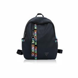 Mochilas suaves online-Más nuevo diseñador de moda mochila mujeres mochilas para adolescentes con doble cremallera Oxford tela Colleage bolsos para mujer mochila de viaje