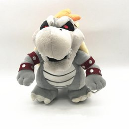 Wholesale dry bones plush doll - Super Mario 25cm 3D Land Bone Kuba Dragon Plush Toy Bolster Cartoon Plush Soft Stuffed Dolls Dry Bones Bowser Koopa OOA3894