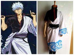 Wholesale Gintama Cosplay - Halloween costume, Kagura, cosplay anime costume wig. Genuine Gintama cos yukata knit Japanese kimono Two yuan and