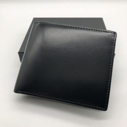 Clip di carta di credito online-Portafogli in pelle corta portafoglio da uomo in pelle di lusso popolare Portafoglio MB portafogli in carta di credito porta carte di credito foto M B BOX portafoto