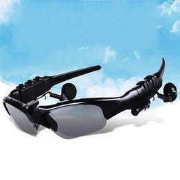 Musica di ascolto wireless online-Smart Bluetooth Glasses Risposta chiamata Ascolta musica Outdoor Occhiali Multi Function Occhiali da sole Uomo e donna Wireless digitale 24hm ii