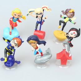 actions de voiture Promotion Q magic girl jouets 6p pour la décoration de gâteau maison ornement enfants jouets figurines poupées pour enfants cadeau de noël POUR VOITURE