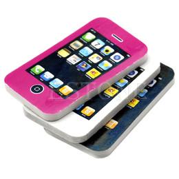 1 Pc Telefone Em Forma de Telefone Celular Alunos Papelaria Presente Brinquedo De Borracha Lápis Bonito Eraser W15 de