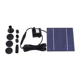 planta de bombeo Rebajas Fuente de agua solar Panel de bomba Kit de riego Para baño de aves Tanque de peces Pequeño estanque de oxígeno Circulación de agua Sistema de riego del jardín