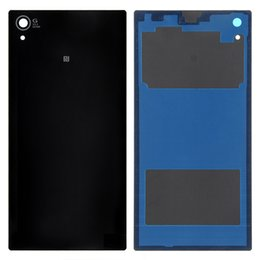 Wholesale Xperia Z1 Battery - High quality HH For so ny xperia Z1 L39H C6902 C6903 Free Shipping Back Glass Cover Housing Case Battery Door Parts FreeShipping