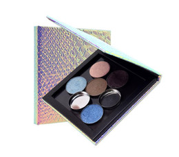 Wholesale Eyeshadow Box Empty - Fish Scales Empty Magnetic Palette Refill Eyeshadow Blush DIY Portable Beauty Pigment Makeup Cosmetic Storage Tools Empty Box