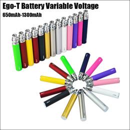 Wholesale ego ce electronic cigarette - Ego-T E-Cigarette Battery 650-1300mAh Electronic Cigarette Battery for EGO-T Atomizer CE 4 battery vs ego-C K CE4 E cig
