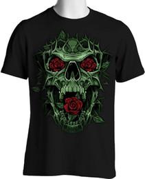 Ropa líquida online-Cráneo gótico Camisetas Rose Thorns Liquid Oversize Blue Design S to 4XL y Tall denim clothes camiseta? T shirt cat windbreaker Pug