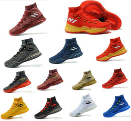 Wholesale Crazy Ups - Andrew Wiggins Crazy Explosive Boost Mens Basketball Shoes Man J Wall 3 Boots Primeknit Design Crazy Explosive PE AW Crazylight Boost 40-46