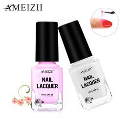 2019 латекс для ногтей AMEIZII 7ml Pink Peel Off Liquid Nail Gel Tape Latex Finger Skin Protected Glue For Easy Clean Care Manicure Nail Tools Lacquer дешево латекс для ногтей