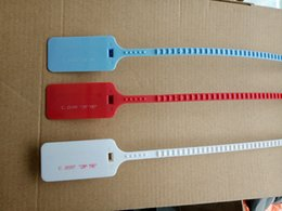 Wholesale off lighting - 2018 Wholesale C.2017 Red tag Zip Tie OW Plastic tag Shoe Buckle for off shoes C.2018 Zip Tie Light Blue White