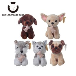 Wholesale Branded Soft Toys - 5 Style Dog Dolls THE LEGEND OF BEAR Brand Stuffed Plush Animals Toys Tiny Soft Toy Gifts For Children Girls Kawaii Anime