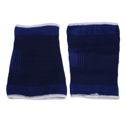 Wholesale Wrist Ankle Bands - Dark Blue Men Ankle Brace Leg Arthritis Injury Gym Sleeve Elasticated Bandage Protector Basketball Running Breathable Wrist Band Knee Pad