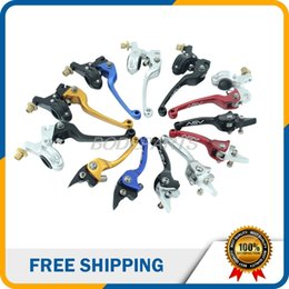 Wholesale brake levers - Colorful CNC Parts ASV First Generation Motorcycle Brake Clutch Levers Fit For Most Motorcycle And ATV In The World Free Shipping
