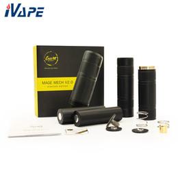 2020 contatos da bateria Autêntico CoilART MAGE MECH V2.0 Edição Empilhada Mech Mod com Bateria Auto-Ajustável Contato Suporta Único Dual 18650 20700 21700 Bateria contatos da bateria barato