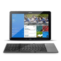 ventanas plegable tableta Rebajas Nuevo Teclado plegable Bluetooth Protable A18 Bluetooth dos veces plegable Teclado táctil inalámbrico BT para IOS / Android / Windows iPad Tablet
