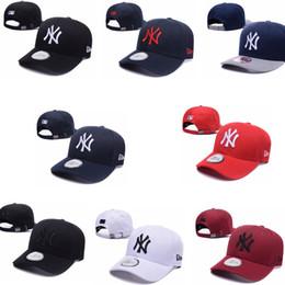 Wholesale new york hip hop caps - 2018 Baseball Caps New York#yankees#s Embroidery Hip Hop bone Snapback Hats for Men Women hat Adjustable Gorras Casquette Unisex