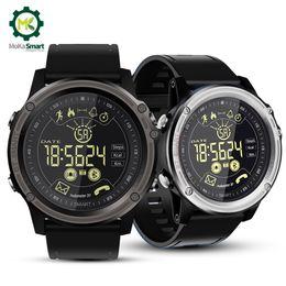 Orologio digitale lungo online-MOKA Fashion Bluetooth Smart Watch Orologi sportivi digitali impermeabili Orologio da uomo Ultra-long Standby SmartWatch per iOS Android
