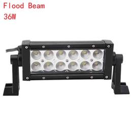 "Wholesale Super 4x4 Off Road Lights - 8"" 36W EPISTAR LED Work Light Bar Lamp Car Tractor Boat Off-Road 4WD 4x4 12v 24v Truck SUV ATV Spot Flood Super Bright Work drop shiping"