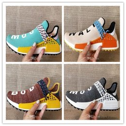 Wholesale Network Shoes - High Quality Pharrell Williams Hu NMD_TR NMD HUMAN RACE Joint Mens Womens Running Shoes Sports Network Men Sneaker Casual shoes Size 36-46