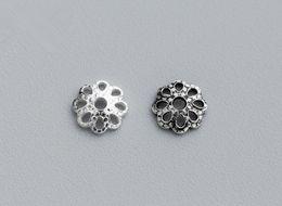 Canada Livraison gratuite 6mm trou 1.2mm 2 couleurs en option 120 pcs / lot perles perles réceptacle bricolage bijoux faits main accessoires bead capuchon en gros Offre