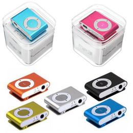 2019 modul lkw Miniclip MP3 Unterstützung Micro TF / SD Slot mit Kopfhörer und USB-Kabel Tragbare MP3-Musik-Player Kostenloser Versand