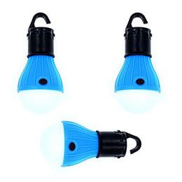 Canada 3pack LED ampoule de tente lanterne portable veilleuse de nuit pour le camping, randonnée, pêche, éclairage extérieur bleu (pack de 3) cheap emergency lighting pack Offre