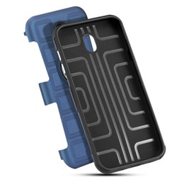 Wholesale iphone holders for belt - 2018 hot Hybrid 2 in 1 Shockproof Armor Case with Ring Holder Kickstand Belt Clip for iPhone X 6 7 8 Samsung Galaxy S8 s9 Plus Car magnetic