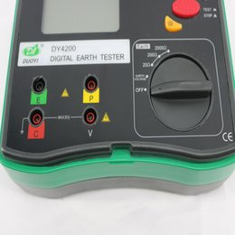 Wholesale precision resistance - DY4200 high-precision digital ground resistance tester Ground Resistance Meter