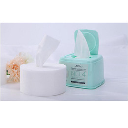 Глубокие насосы онлайн-250PCS Cotton Pads Cotton  Remover Wipes Facial Cosmetic Deep Cleansing Skin Care Face Wash Pumping Paper  Tools
